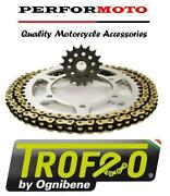 Trofeo Chain And Sprocket Kit Bmw F800 Gs Twin 09-19 10mm Bolts