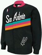 Authentic Nba Mitchell And Ness San Antonio Spurs Vintage Warm-up Jacket