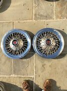 74 - 79 Mercury Cougar Ford Torino 15 Wire Hubcaps