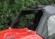 Doors For Polaris Rzr 570, 800, 800s, And 900 - Soft Material - Acrylic Base