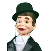 Charlie Mccarthy Super Deluxe Upgrade Dummy Moving Eyes And Eyebrows Quality