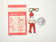Vintage Nbc Howdy Doody Puzzle Keychain Over 2 Inches Tall 11379