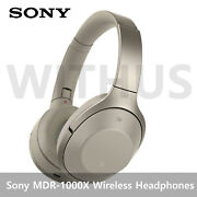 Sony Mdr-1000x Noise Cancelling Bluetooth Headphones Wireless - White