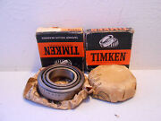 Pair Of 1961 - 66 Ford Cortina Timken Differential Bearings -- 1jc