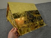 + Traditional Missal Stand Gospel Book Stand All Goldplated + Chalice Co.