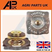 Square Radiator Cap For Ford 2000 3000 4000 4600 5000 5610 6610 7610 Tw Tractor