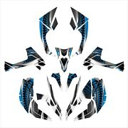 Can Am Renegade 800 1000 R X Graphics Sticker Kit 7777 Blue