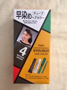 Paon Seven-eight Hair Dye Color Kit - 4 Natural Brown - Includes Brush
