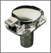 Stainless Flip Fuel Filler Cap For Antique And Classic Boats