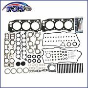Brand New Head Gaskets Set W/ Bolts For 95-04 Toyota 3.4l V6