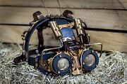 Mad Max Handmade Steampunk Cosplay Mask    Leather    Gothic    Victorian    5