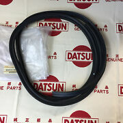 Datsun B210 Coupe Weatherstrip Back Door Seal Genuine Fits Nissan Sunny 120y