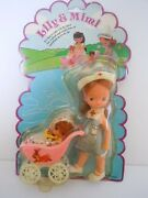 1970and039s Kiddle Klone Baby In Stroller+ Betsey Clark Clone Nurse Doll Lily And Mimi