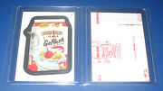 Wacky Packages Ans11 Red Ludlow 2 Go-flush  Nm/mt  @@ Rare @@