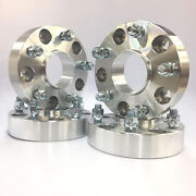4pc 1 Thick Hub Centric Wheel Spacers Adapters For Ram 1500 2012 And Newer 5x5.5