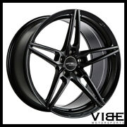 19 Ace Aff01 Flow Form Black Concave Wheels Rims Fits Ford Mustang Gt Gt500