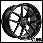 19 Ace Aff02 Flow Form Black Concave Wheels Rims Fits Ford Mustang Gt Gt500