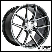 19 Ace Aff02 Flow Form Grey Concave Wheels Rims Fits Cadillac Cts V Coupe