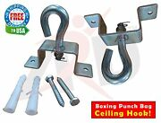 Ard Champsandtrade Punch Bag Ceiling Hook Silver Heavy Duty Metal Screws And Plugs Thick