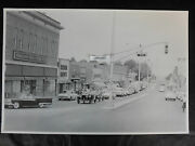 12 By 18 Black And White Picture - Parade Of Fords In Wyoming 1959
