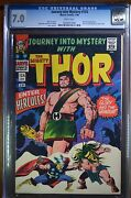 Journey Into Mystery 124 Cgc 7.0 White Pages Hercules App. Thor Reveals Identity
