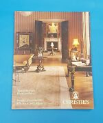 Christie's English Antique Regency Empire Furniture And Antiques 1993 Catalogue