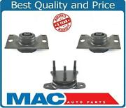 Engine And Transmision Mounts 3pc For Nissan Armada 4 Wheel Drive 05-15