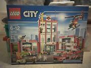 Lego City Fire Station 60110 New Sealed Rare Discontinued Retired Oop Vhtf