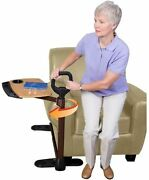 Couch Sofa Side Support Handle Standing Mobility Assist Aid Tv Swivel Tray Table