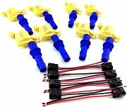 2004-2008 Ford F150 F-150 F-250 F250 Ignition Coil Packs And Wire Harness Clip Set