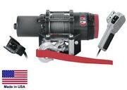 Winch - Heavy Duty - 12 Volt Dc - .9 Hp - 3,000 Lb Cap 50 Ft Of 3/16 Wire Rope