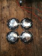 Set Of 4 Chevy Impala Belair Biscayne 68 - 70 Dog Dish Hubcaps 10 1/2