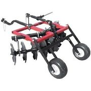 Disc Cultivator Harrow - Tow Behind Atv Utv And Compact Tractor - 4.3 Ft Cut Width