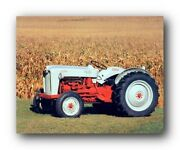 1953 Ford Naa Golden Jubilee Tractor Farm Vintage Tractor Wall Art Print 8x10
