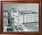 1925 Northeast First Avenue Vintage City Miami Florida Wall Decor Framed Picture