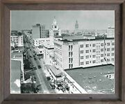 1925 Northeast First Avenue Vintage City Miami Florida Framed Wall Decor Picture