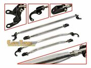 Strut Tower Tie Arm Bars Brace Front + Rear 4pcs Combo For 90-01 Acura Integra