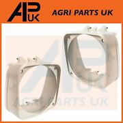 Pair Headlight Headlamp Cowls For Ford New Holland 4610 5610 6610 7610 Tractor