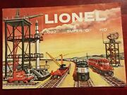 Vintage 1950and039s Lionel Trains Colored Parts And Accessories Catalog Very Nice