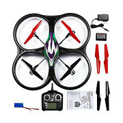 V262 Cyclone Ufo Quadcopter Green Remote Control Rc Helicopter Radio Control