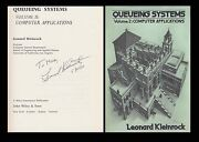Leonard Kleinrock Autographed Signed Book Queueing Systems Arpanet Internet Ucla