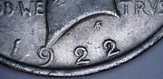 1922-p Machine Doubling Silver Liberty Peace Dollar 1 Us Coin Item 10418