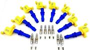 Ignition Coils Ford Expedition F-350 Lincoln Mark Lt Navigator Autolite Plugs Sd