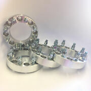 4x Wheel Spacers Adapters ¦ 8x6.5 To 8x6.5 ¦ 14x1.5 ¦ 2 Inch 50mm Fit Chevy Gmc