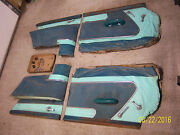 1955 Dodge Royal 2dr Ht Door Panel Set Front And Rear 1955 56 57 Plymouth Chrysler