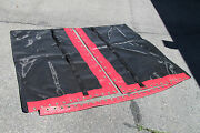 Hobie Cat 18 Trampoline New Black Mesh With Pocket And Red Tough Wrap