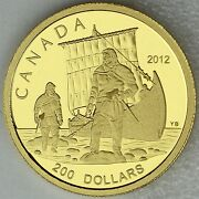 Canada 2012 200 The Vikings Great Explorers Series 1 99.99 Pure Gold Proof