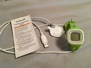 Lime Green Garmin Watch - Gently Used Comes With Charging Cord And Manual