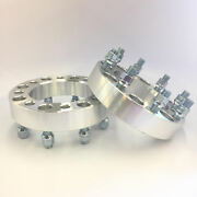 2 Pieces Custom Wheel Spacers Andbrvbar 8x6.5 To 8x6.5 Andbrvbar 14x1.5 Andbrvbar 2 Inch 50mm Thick