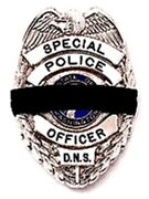 Black Mourning Bands For Police And Fire Fighters Badges Pack Of 150